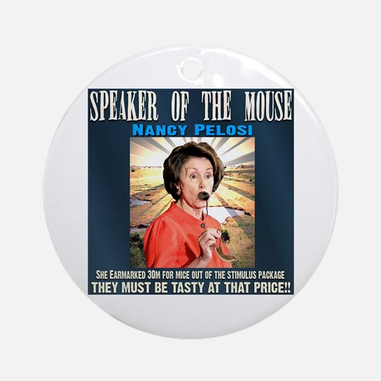 Speaker of the mouse Ornament (Round)