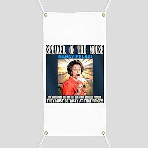 Speaker of the mouse Banner
