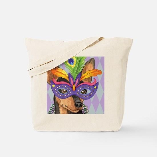 Party Min Pin Tote Bag