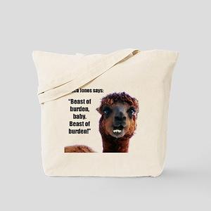 """""""Beast of Burden"""" Tote Bag"""