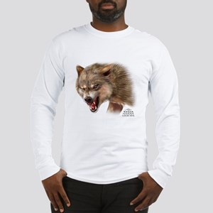 Nature Dome Men Wolf Long Sleeve T-Shirt