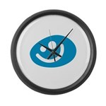 All Smiles Studio Large Wall Clock