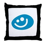 All Smiles Studio Throw Pillow