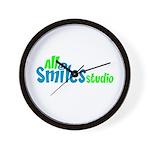 All Smiles Studio Wall Clock