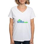 All Smiles Studio Women's V-Neck T-Shirt