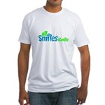 All Smiles Studio Fitted T-Shirt