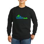 All Smiles Studio Long Sleeve Dark T-Shirt