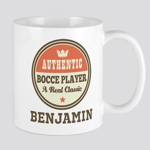 Personalized Bocce Player Gift Mugs