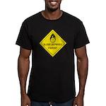 Sleep Deprived Parent Men's Fitted T-Shirt (dark)
