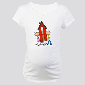 House We're Moving Maternity T-Shirt