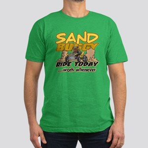 Sand Buggy Ride Today Men's Fitted T-Shirt (dark)