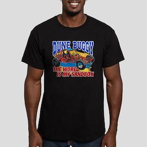 Dune Buggy Sandbox Men's Fitted T-Shirt (dark)