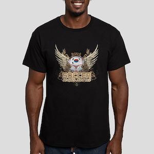 Soccer South Korea Men's Fitted T-Shirt (dark)