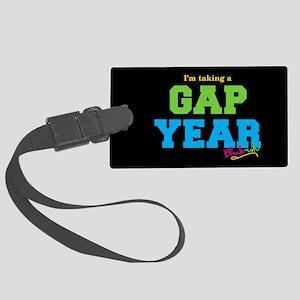 Blackish Gap Year Junior Large Luggage Tag