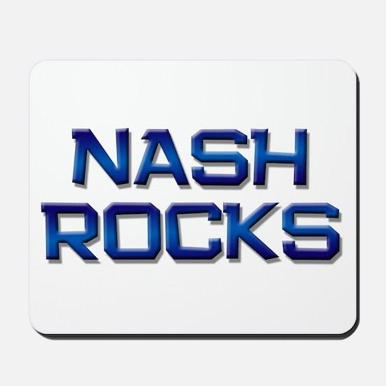 nash rocks Mousepad