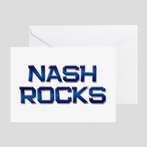 nash rocks Greeting Card