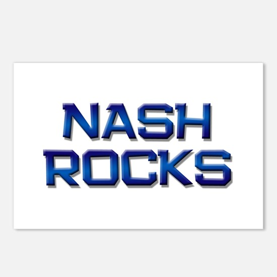 nash rocks Postcards (Package of 8)