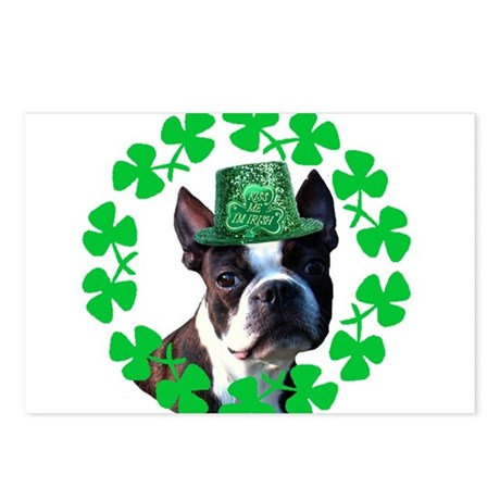 Kiss me I'm Irish Boston terr Postcards (Package o