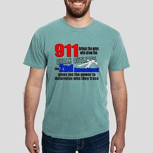 911 Chalk Outlines Mens Comfort Colors® Shirt