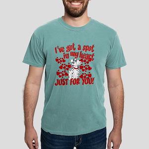 Dalmatian Valentine Mens Comfort Colors® Shirt