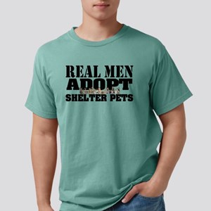 Real Men Adopt Mens Comfort Colors® Shirt