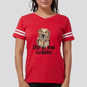 golden Womens Football Shirt