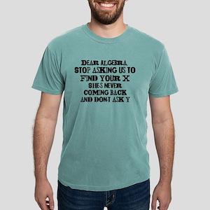 Dear Algebra Mens Comfort Colors® Shirt