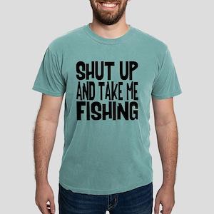 Shut Up & Take Me Fishing Mens Comfort Colors® Shi