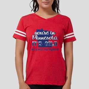 Minnesota Shut Up Womens Football Shirt