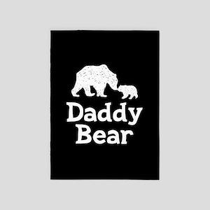 Daddy Bear 5'x7'Area Rug