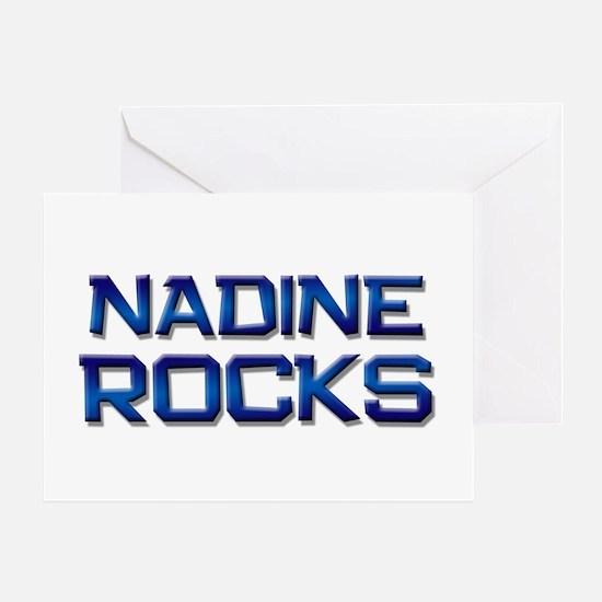 nadine rocks Greeting Card