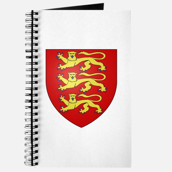 Medieval England (3 lions) Journal