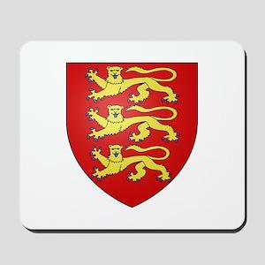 Medieval England (3 lions) Mousepad