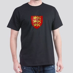 Medieval England (3 lions) Dark T-Shirt
