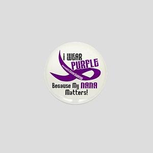 I Wear Purple (Nana) 33 PC Mini Button