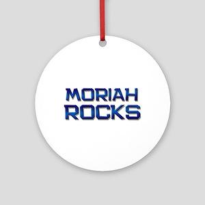 moriah rocks Ornament (Round)