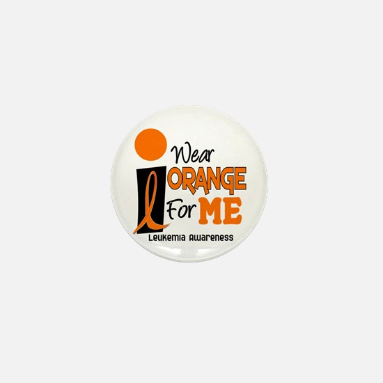 I Wear Orange For ME 9 Leukemia Mini Button