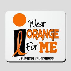 I Wear Orange For ME 9 Leukemia Mousepad