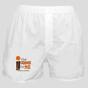 I Wear Orange For ME 9 Leukemia Boxer Shorts