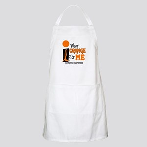 I Wear Orange For ME 9 Leukemia BBQ Apron