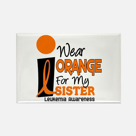 I Wear Orange For My Sister 9 Leuk Rectangle Magne