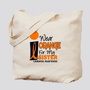 I Wear Orange For My Sister 9 Leuk Tote Bag