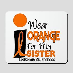 I Wear Orange For My Sister 9 Leuk Mousepad