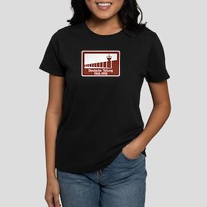 Berlin Wall 1945-1990, Germany Women's Dark T-Shir