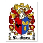 Lauridsen Coat of Arms Small Poster