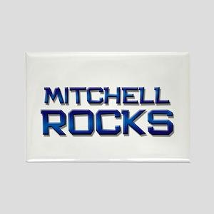 mitchell rocks Rectangle Magnet