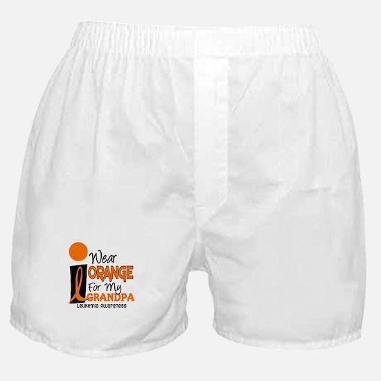 I Wear Orange For My Grandpa 9 LEUK Boxer Shorts