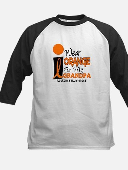 I Wear Orange For My Grandpa 9 LEUK Tee