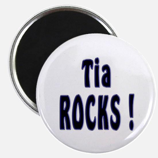 Tia Rocks ! Magnet
