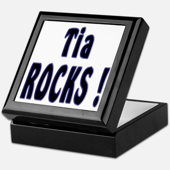 Tia Rocks ! Keepsake Box